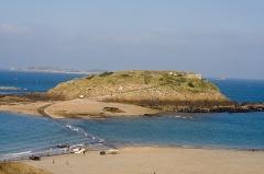Tombeau de Chateaubriand et ensemble de l'îlot du Grand Bé -