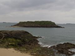 Tombeau de Chateaubriand et ensemble de l'îlot du Grand Bé -  Le Grand Bé