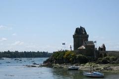 Tour Solidor et ouvrages avancés -  Tour Solidor à Saint-Malo .