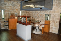 Tour Solidor et ouvrages avancés - English: Room of the museum of the Cap Horniers Saint-Malo France