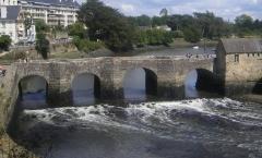 Pont de Saint-Goustan -  Pont de pierre d'Auray, sur l'aber Loc'h