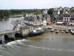 Pont de Saint-Goustan - English: Saint Goustan port - Auray