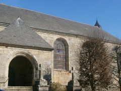 Eglise Saint-Cornély - English: église de Carnac