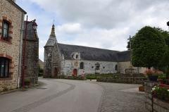Eglise Saint-Jean-Baptiste, dite aussi Sainte-Anne -  Église Sainte-Anne du Guerno  exterieur