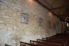 Eglise Saint-Jean-Baptiste, dite aussi Sainte-Anne -  Église Sainte-Anne du Guerno  interieur