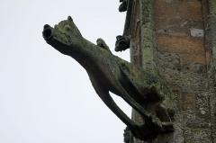 Eglise Notre-Dame-de-Paradis et ses abords - Français:   Gargouille de la Église Notre-Dame-de-Paradis d\'Hennebont, France