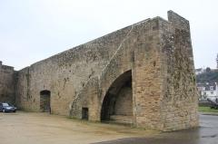 Remparts - Français:   Remparts d\'Hennebont, France