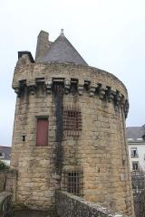 Remparts - Français:   Porte de Broërech à Hennebont, France