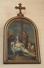 Eglise Saint-Cyr - Français:   Église Saint-Cyr (Moréac): Chemin de croix, station N°13