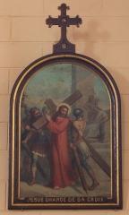 Eglise Saint-Cyr - Français:   Église Saint-Cyr (Moréac): Chemin de croix, station N°2