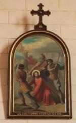 Eglise Saint-Cyr - Français:   Église Saint-Cyr (Moréac): Chemin de croix, station N°3