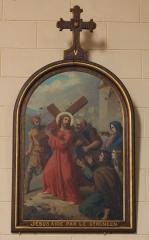 Eglise Saint-Cyr - Français:   Église Saint-Cyr (Moréac): Chemin de croix, station N°5