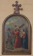 Eglise Saint-Cyr - Français:   Église Saint-Cyr (Moréac): Chemin de croix, station N°6