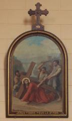 Eglise Saint-Cyr - Français:   Église Saint-Cyr (Moréac): Chemin de croix, station N°7
