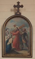 Eglise Saint-Cyr - Français:   Église Saint-Cyr (Moréac): Chemin de croix, station N°8