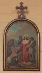 Eglise Saint-Cyr - Français:   Église Saint-Cyr (Moréac): Chemin de croix, station N°10