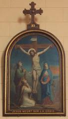 Eglise Saint-Cyr - Français:   Église Saint-Cyr (Moréac): Chemin de croix, station N°12