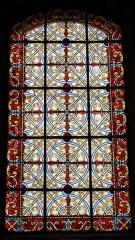Eglise Saint-Cyr - Français:   Église Saint-Cyr (Moréac): vitrail