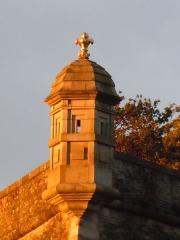 Citadelle du Palais, à Belle-Ile-en-Mer - Echaugette de Citadelle Vauban du Palais - Le Palais