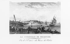 Citadelle du Palais, à Belle-Ile-en-Mer -  La citadelle de Belle-Isle. Bretagne, Famille Le Clerc.
