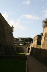 Citadelle du Palais, à Belle-Ile-en-Mer -  La citadelle de Le Palais