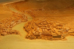 Citadelle du Palais, à Belle-Ile-en-Mer -  Maquette de la citadelle de Le Palais