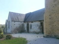 Eglise Saint-Golven et son calvaire - Français:   Église Saint-Golven de Taupont