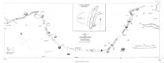 Alignements du Petit-Ménec - English: Plan of the Dracontium of Carnac [Erdeven, Plouharnel, La Trinité-sur-Mer & Île-aux-Moines]. Surveyed April 1832
