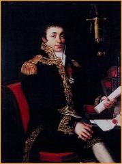 Ancienne cohue - English: Joseph Louis Victor Jullien, général de brigade, préfet du Morbihan durant le premier empire,Comte d'Empire, commandeur de la légion d'honneur, Conseiller d'Etat.
