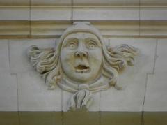 Hôtel de Limur - Français:   Hôtel de Limur à Vannes (56). Mascaron du 2d étage.