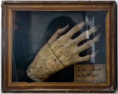 Ancien hôtel du Parlement de Bretagne, dit Château-Gaillard - Français:   Main de momie égyptienne, rapportée par Frédéric Cailliaud (1787-1869), égyptologue et naturaliste, d\'une des deux expéditions auxquelles il a participé (1815 et 1822), dans le cadre de la Campagne d\'Egypte.