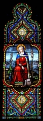 Eglise Saint-Eutrope - French stained-glass artist, mosaicist and glass painter