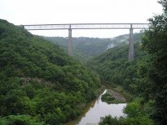 Viaduc des Fades - Deutsch: Viaduc de Fades (Frankreich, Auvergne, Sioule-Tal)
