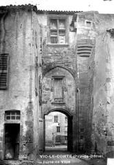 Ancien palais des Comtes d'Auvergne -