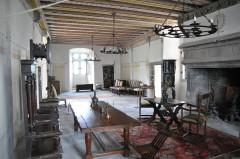 Château fort de Tournoël - Français:   Intérieur