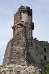 Château fort de Tournoël - English: The castle of Tournoël, near Volvic, Auvergne, France.