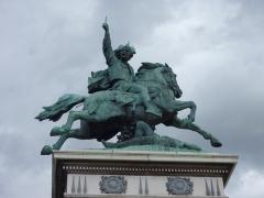 Statue de Vercingétorix - English: Statue of Celtic king Vercingetorix at the Place de Jaude (Clermont-Ferrand)