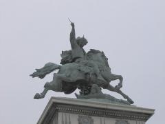 Statue de Vercingétorix - Português: Estátua de Vercingentórix em Clermont-Ferrand
