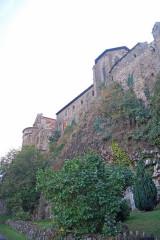 Prieuré - Deutsch: Chanteuges, südliche Steilwand