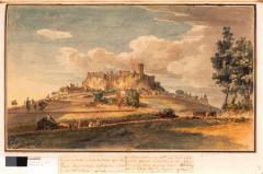 Ruines du château fort - English: Polignac