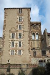 Ancien château ou Palais des ducs de Bourbon - Deutsch:   Ehemaliges Schloss der Herzöge von Bourbon in Moulins im Département Allier (Auvergne-Rhône-Alpes/Frankreich)