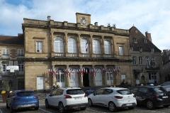 Hôtel de ville - Deutsch: Hôtel de Ville (Rathaus) in Moulins im Département Allier (Auvergne-Rhône-Alpes/Frankreich)