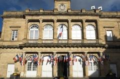 Hôtel de ville - Deutsch: Rathaus (Hôtel de Ville) in Moulins im Département Allier (Auvergne-Rhône-Alpes/Frankreich)