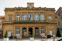 Hôtel de ville - Deutsch: Moulins: Rathaus