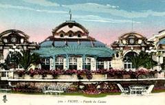 Théâtre et grand Casino - English: 310 Vichy, Facade du Casino