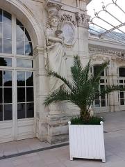 Théâtre et grand Casino - Pavillon gauche, cariatide droite.