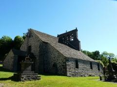 Eglise Saint-Martin - Français:   L\'église des Ternes, Cantal, France.