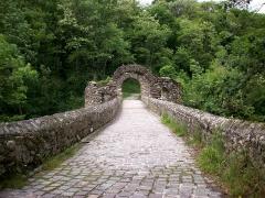 Pont du Diable sur l'Ariège, près de Mercus-Carrabet -  Pont du Diable, Montoulieu (09)