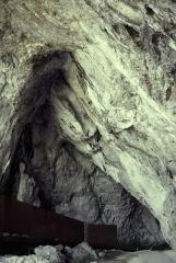 Grotte de la Calbière dite Grotte de Niaux -  Ariege Grotte De Niaux Entree 071995