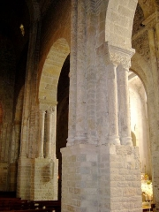 Eglise Saint-Pierre -  Nant in Aveyron (FRANCE) Inside the church  I took this photo in july 2006